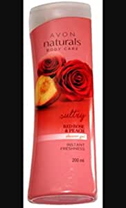 Avon naturals Red rose and peach hand and body lotion,200 ml