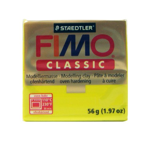 Fimo Classic Yellow 2oz (Polymer Clay Fimo Classic compare prices)