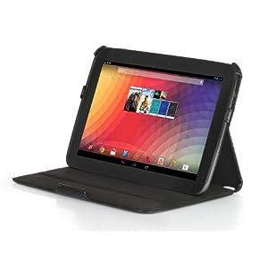 Stilgut Original Ultraslim Case Tasche mit Stand- und Präsentationsfunktion für Google Nexus 10 (schwarz)