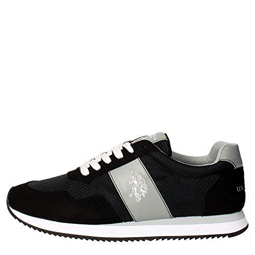 U.s. Polo Assn COMET4145S5/CS Sneakers Homme Suède/tissu Vert Foncé