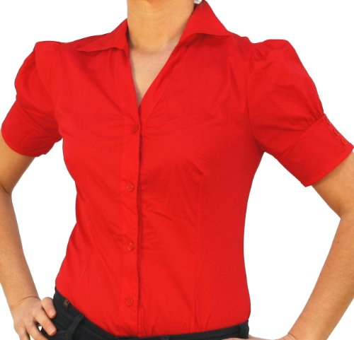 C & H Body blouse, blouse body, short-sleeved,