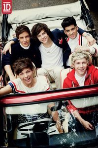 Your Space UK One Direction - Car Maxi Size Wall Poster 24 X 36 Inches from Your Space UK
