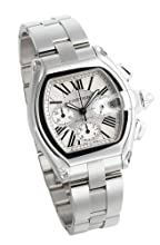 Cartier Men s W62019X6 Roadster Automatic Chronograph Watch
