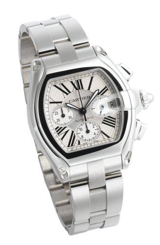 Cartier Cartier Men's W62019X6 Roadster Automatic Chronograph Watch