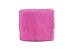 Digni® Poignet éponge avec drapeau Unicolore Rose, pack de 2