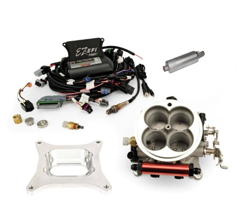 FAST 30296-KIT EZ-EFI Self-Tuning Jeep Fuel Injection System with In-Tank Fuel Pump