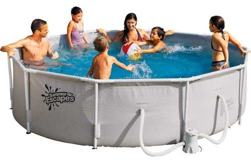 Runde Frame Pool – 10ft – Weiß. günstig online kaufen