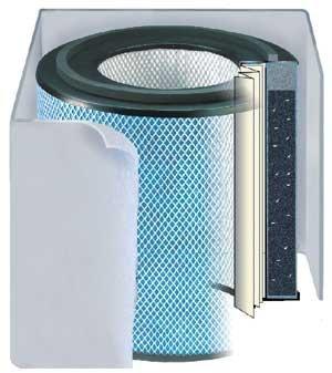 Austin Air Pet Machine Replacement Filter w/ Prefilter (Dark-Colored) by Austin Air