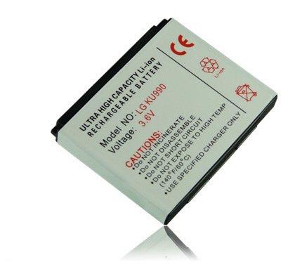 M&L Mobiles® AKKU WIE LGIP-580A FÜR LG mobile KB620 | KB770 | KU990 | KU990i | KU990 Viewty | CU920 | CU920 Vu-TV | CU915 | CU915Vu | HB620T etc....