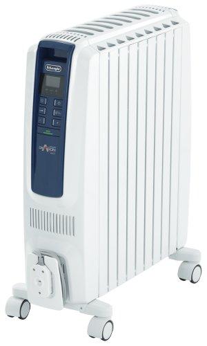 DeLonghi オイルヒーター ドラゴンデジタル スマート X字型フィン9枚 【4~10畳用】 QSD0915-MB