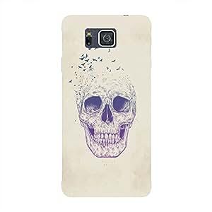 Back cover for Samsung Galaxy Alpha Skull 3