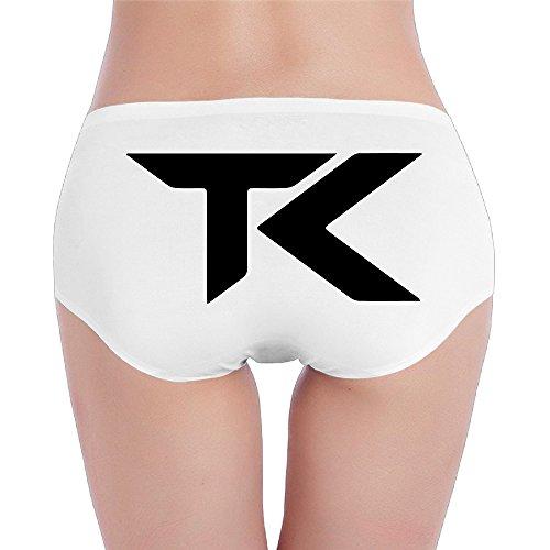 Team Kaliber Logo Cotton Panties White (Xotic Colours)