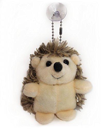 Lucore Happy Hedgehog Plush Stuffed Animal Keychain Hanging Toy