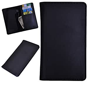 DSR Pu Leather case cover for Spice Stellar 518 (black)