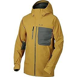 Oakley Men\'s Solitude Gore-Tex 3L Jacket, Copper Canyon, Large