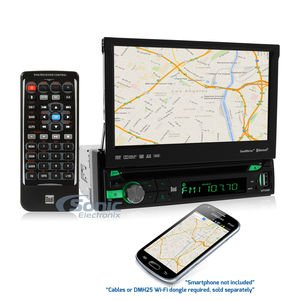 Cheap Dual Car DVD Player - 7 Touchscreen LED-LCD - Single DIN DV725BH