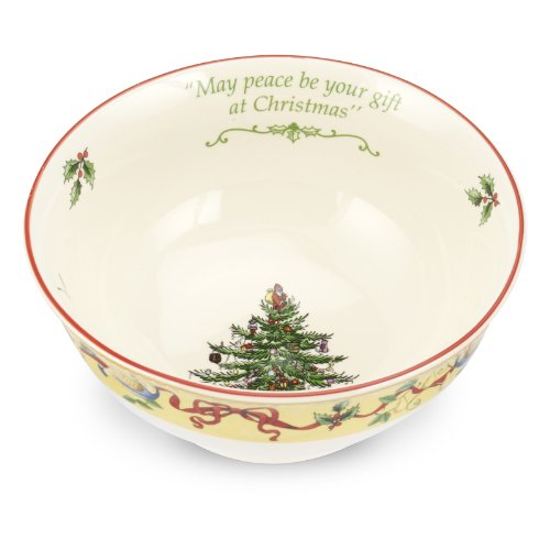 Spode Christmas Tree Annual Edition Candy Bowl, 6-Inch