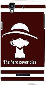 PrintVisa Boy Cool Hero Case Cover for YU Yureka