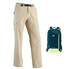 Quechua Arpenaz 50 Trekking Trousers with Arpenaz 10 Day Trekking Backpack
