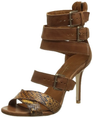 Latitude Femme Women's 26020 Fashion Sandals Brown Marron (Morositas Lion) 40