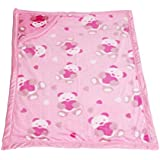 WARM UP - Baby Blanket Cum AC Comforter Cum Wrapping Sheet - Double Layered With Hood