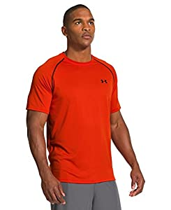 Under Armour Men's UA Tech™ Short Sleeve T-Shirt Large Volcano
