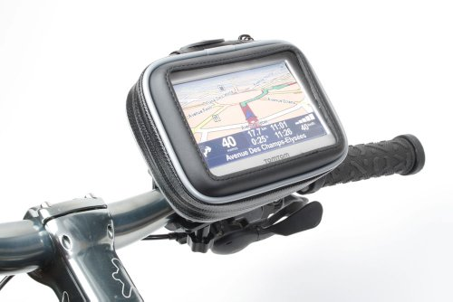 Duragadget Cycle./ Bike / Bicycle Waterproof holder mount and case for GPS satnavs, fits all models including garmin Nuvi models 200w, Nuvi 205w, Nuvi 250w, Nuvi 255w, Nuvi 260w, Nuvi 265w, Nuvi 265wt, Nuvi 270w, Nuvi 600, Nuvi 610, Nuvi 650, Nuvi 660, Nu