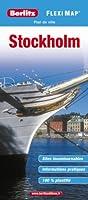 Plan de Stockholm - Flexi Map plastifié