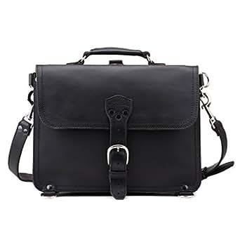 Saddleback Leather Medium Thin Briefcase in Black