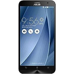 Asus ZenFone 2 Smartphone 5.5 pollici Full HD, RAM 4 GB, 32 GB, 4G/LTE, Argento