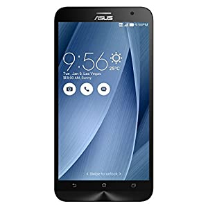 ASUS ZenFone 2 Unlocked Cellphone, 16GB, Silver