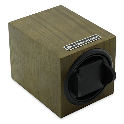 Steinhausen Single Olive Wood Grain Watch Winder
