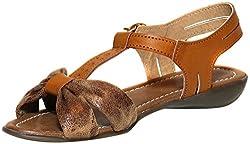 Craze Shop Womens Beige Artificial Leather Flats - 3 UK