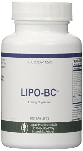 Lipo BC 100 Tablets Lipotrophic Weight Loss Supplement