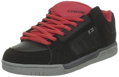 Globe Liberty, Herren Skateboardschuhe, Schwarz (10982 Black Night Red), 40 EU