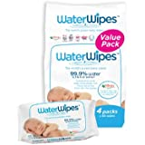 WaterWipes Super Value Box - Pack of 4, Total 240 Baby Wipes