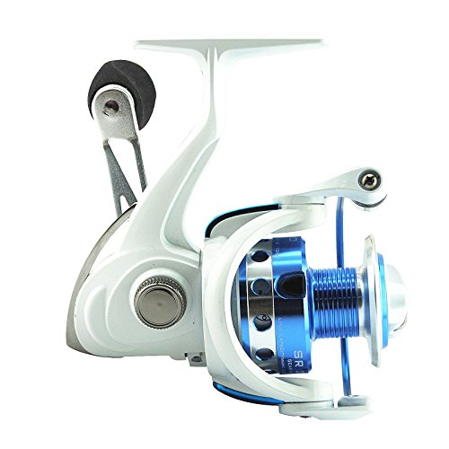 KastKing SR Lightweight Compact Design Spinning Fishing Reel Great Open Face Reel For Both Saltwater Fishing and Freshwater Fishing (SR4000) (Open Face Catfish Reels compare prices)