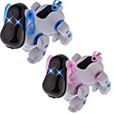 Battery Operated Music Singing Lights Up Electronic Walking Pet Robot Dog Puppy Toys Brinquedos For Children Kids...