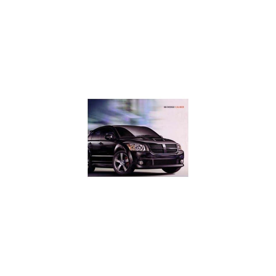 2008 Dodge Caliber Sales Brochure Literature Advertisement Options Colors Specs