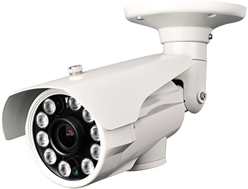 License Plate Camera, High Resolution 700 Tv Lines 960H Night Vision, Sony Ccd, Sony Effio-E Dsp, Outdoor, 5-50Mm Long Range Lens Build In