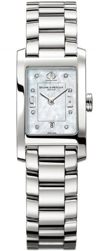Baume & Mercier Baume Mercier Women's 8814 Hampton Classic Quartz Mother-of-pearl Dial Watch