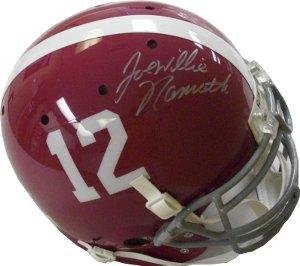 Joe Namath signed Alabama Crimson Tide Authentic Schutt Helmet Willie - Autographed... by Sports+Memorabilia