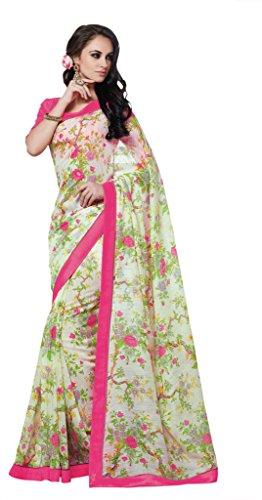 Jay Sarees Office Casual Partywear Ethnic Indian Linen Saree - Jcsari2995d1959