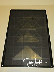 Tony Hawk Autographed Signed Brand-new Black Kryptonics Skateboarding Ramp, Proof... by Southwestconnection-Memorabilia