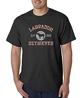 Labrador Retriever Est 1822 Dog Lover Puppy Best Friend T-Shirt S-5XL