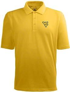 West Virginia Pique Xtra Lite Polo Shirt (Alternate Color) by Antigua