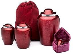 UrnConcern Coventry Pomegranate Blossom Cremation Urn, 6\