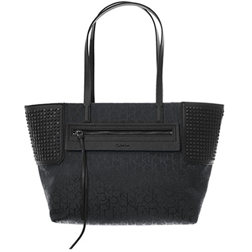 [CALVIN KLEIN] カルバン・クライン ララパッカブル トートバッグ ブラック LARA PACKABLE TOTE BAG DH0713(並行輸入品)
