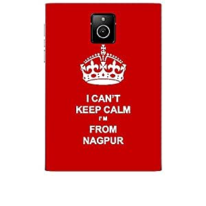 Skin4gadgets I CAN'T KEEP CALM I'm FROM NAGPUR - Colour - Red Phone Skin for BLACKBERRY PASSPORT