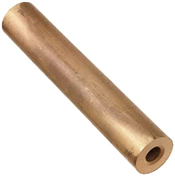 841 Bronze Hollow Round Bar, Sintered, Standard Tolerance, Inch, ASTM B438-73/SAE-841/Mil-B-5687C